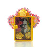 Frida with Yellow Flower Nicho