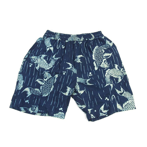 Indigo Hilltribe Shorts