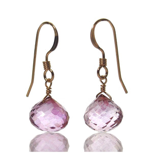 Mystic Topaz Earrings with Gold Filled French Earwires