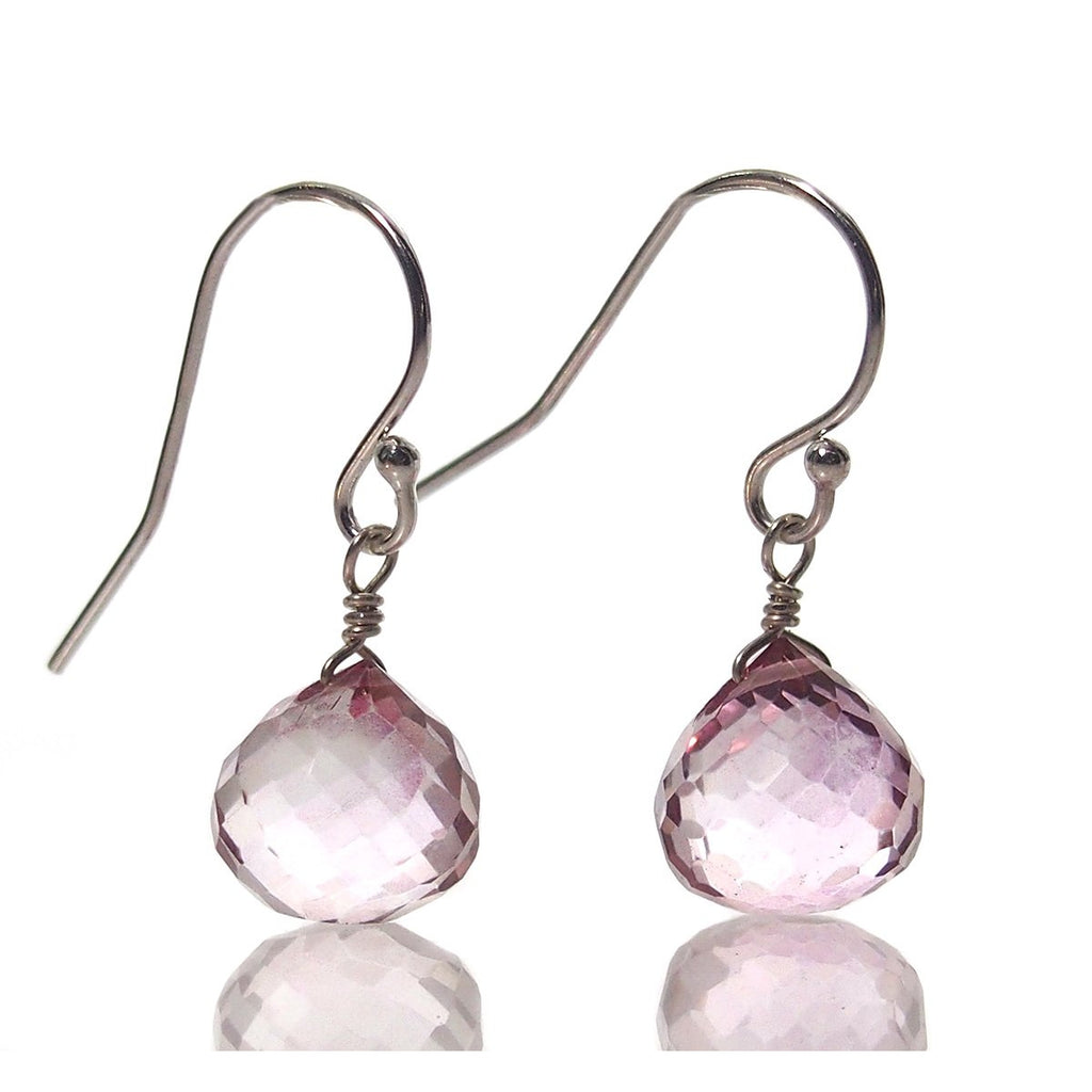 Mystic Topaz with Sterling Silver French Earwires
