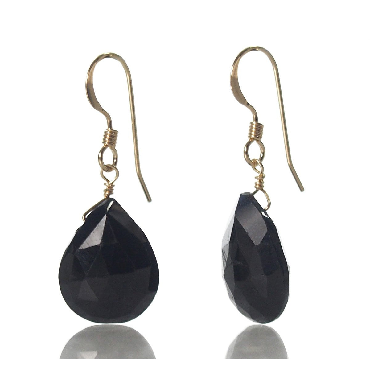 spinel earrings depanthera product black chandelier