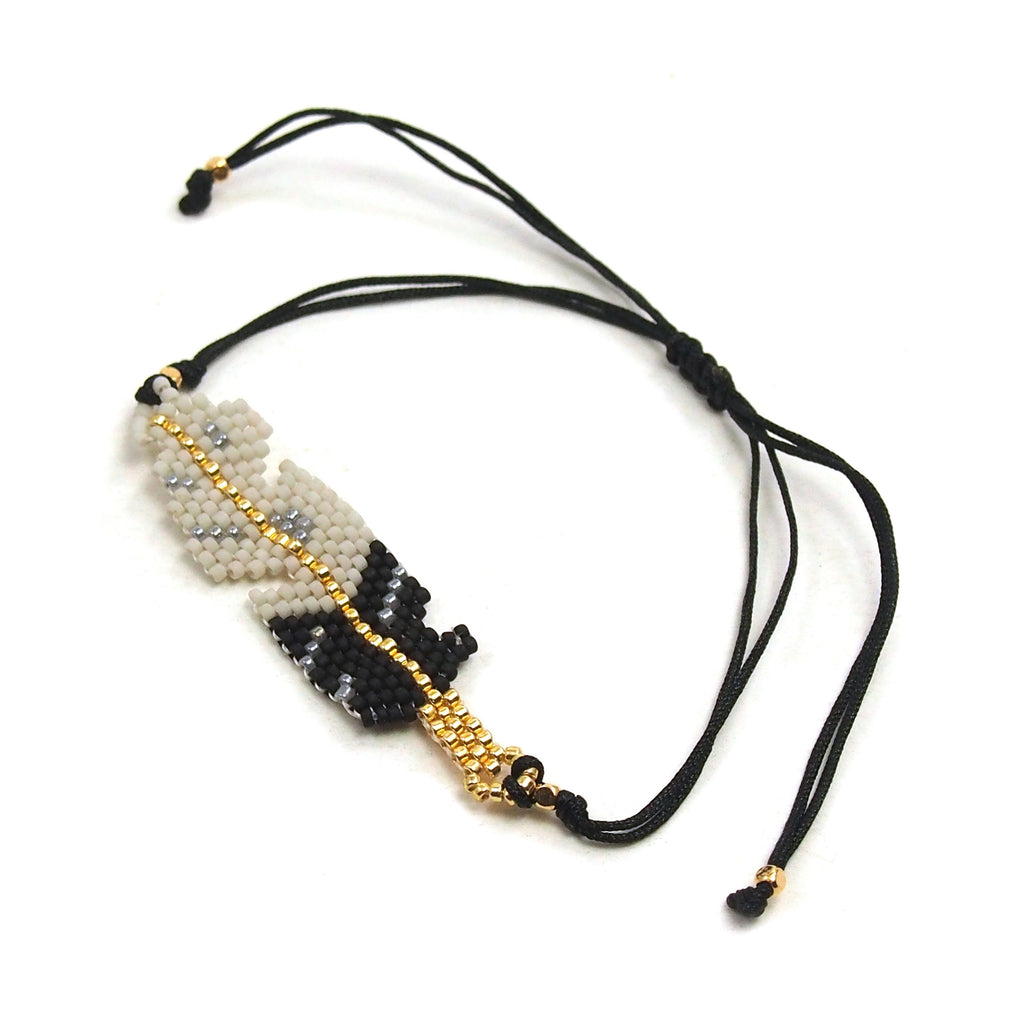 Feather Hand-Loomed Bracelet