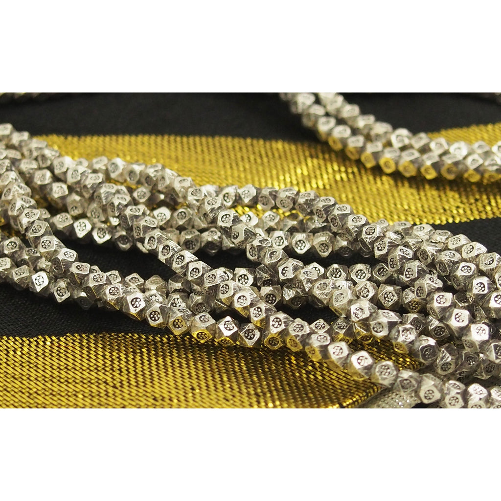 98% Pure Hill Tribe Silver 2.8mm Beads 4