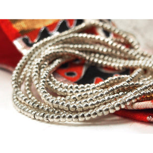 98% Pure Hill Tribe Silver 3.4mm Beads 6