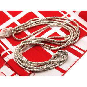 98% Pure Hill Tribe Silver 3.3mm Beads 5