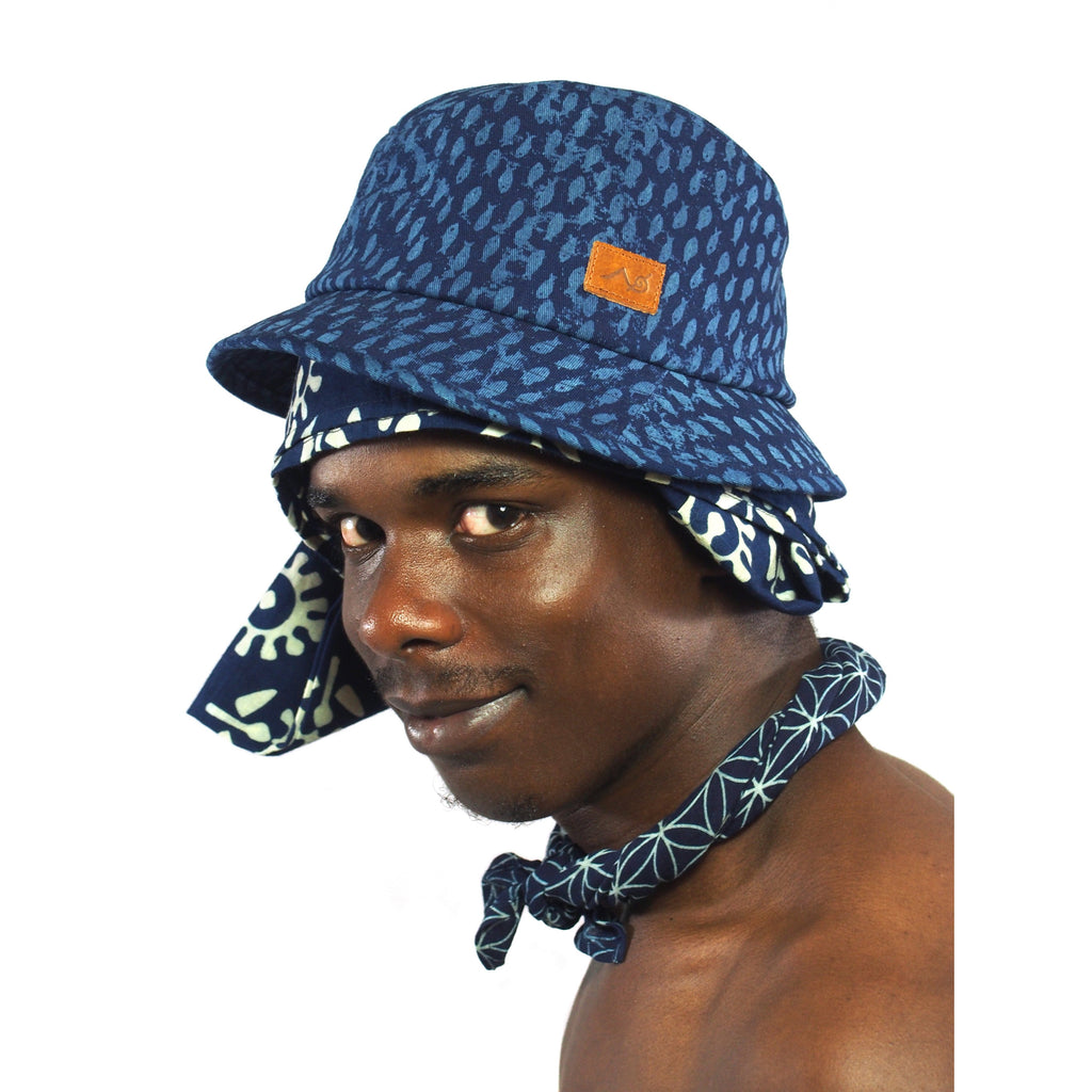 Indigo Hilltribe Bucket Hat
