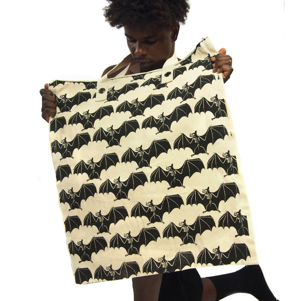 Feeling Batty Bat Totem Oversize Tote Bag