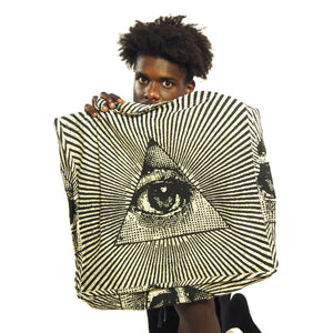 All Seeing Eye Oversize Tote Bag
