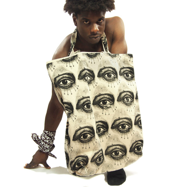 Eye Of The Beholder Oversize Tote Bag