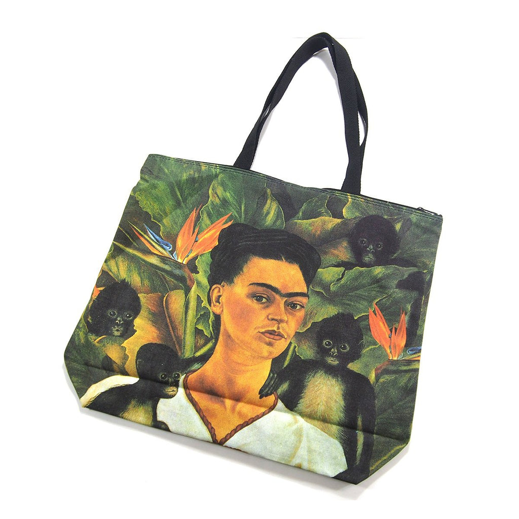 Screen Printed Tote Bag, Frida Kahlo (4)