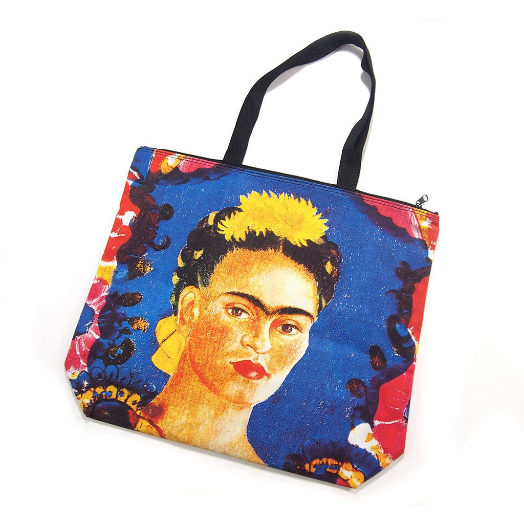 Screen Printed Tote Bag, Frida Kahlo (5)