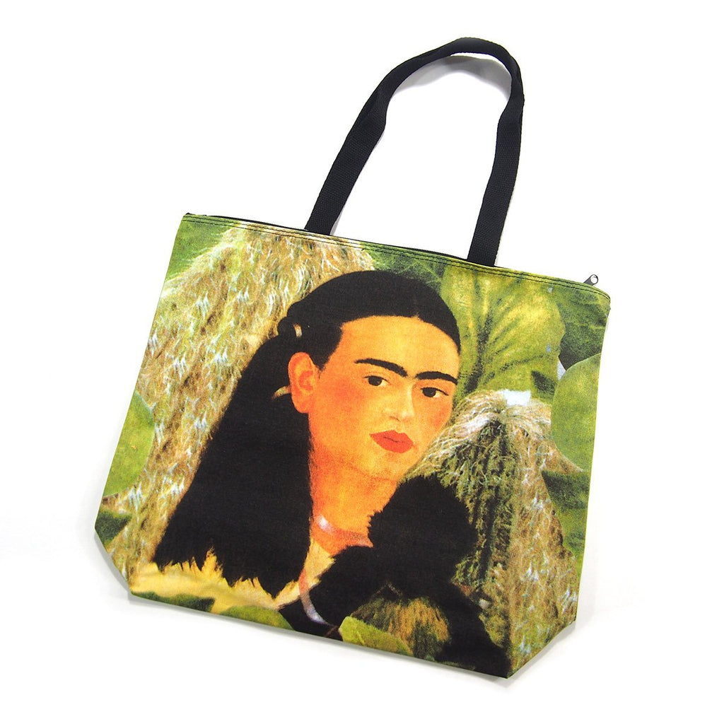 Screen Printed Tote Bag, Frida Kahlo (6)