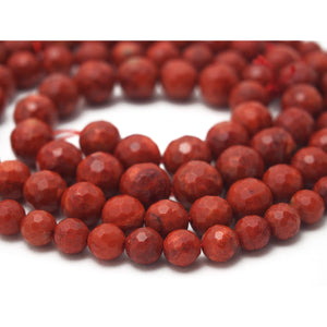 Sponge Coral Faceted 8mm, 10mm, 12mm