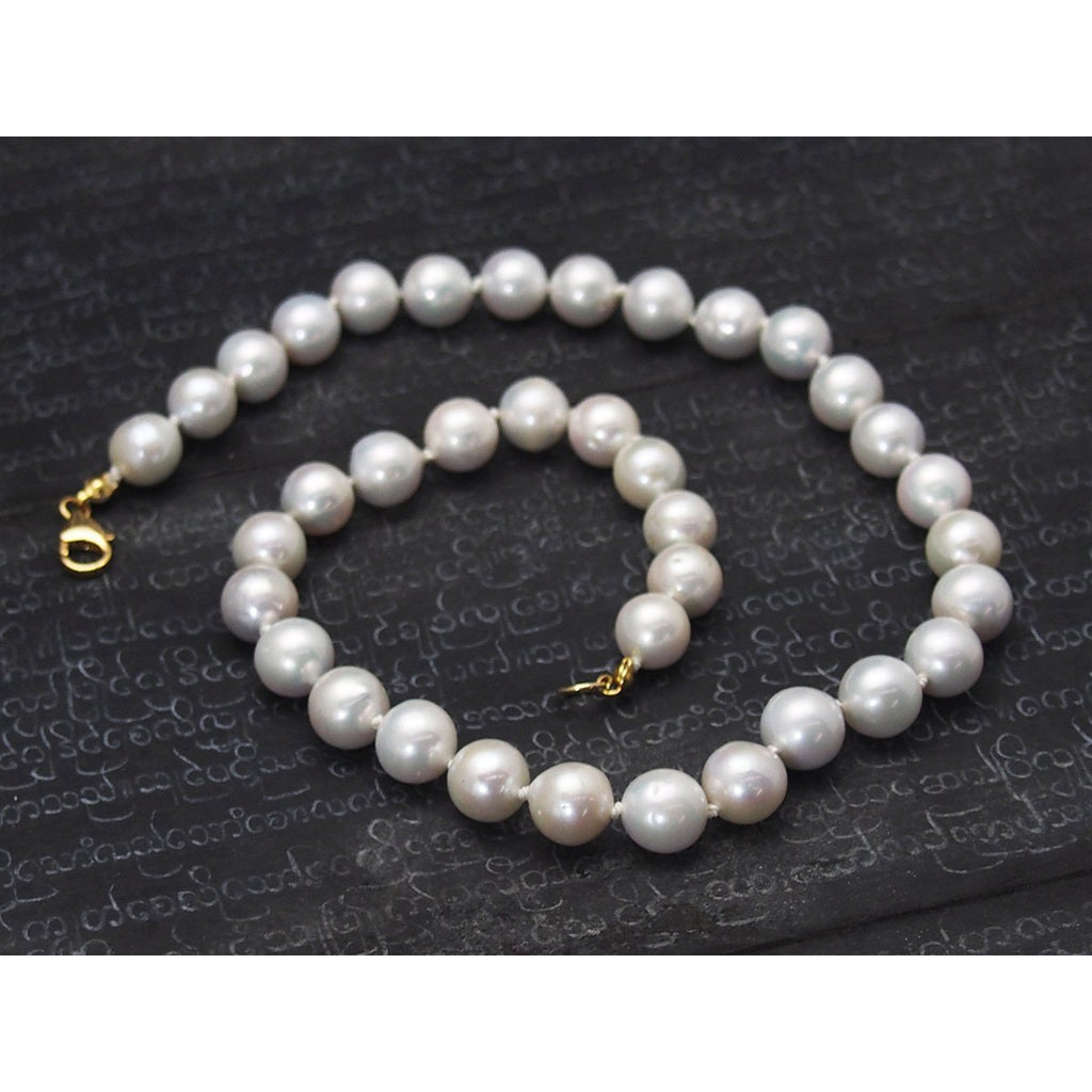 Fresh Water Pearl Choker Necklace with Gold Filled Trigger Clasp
