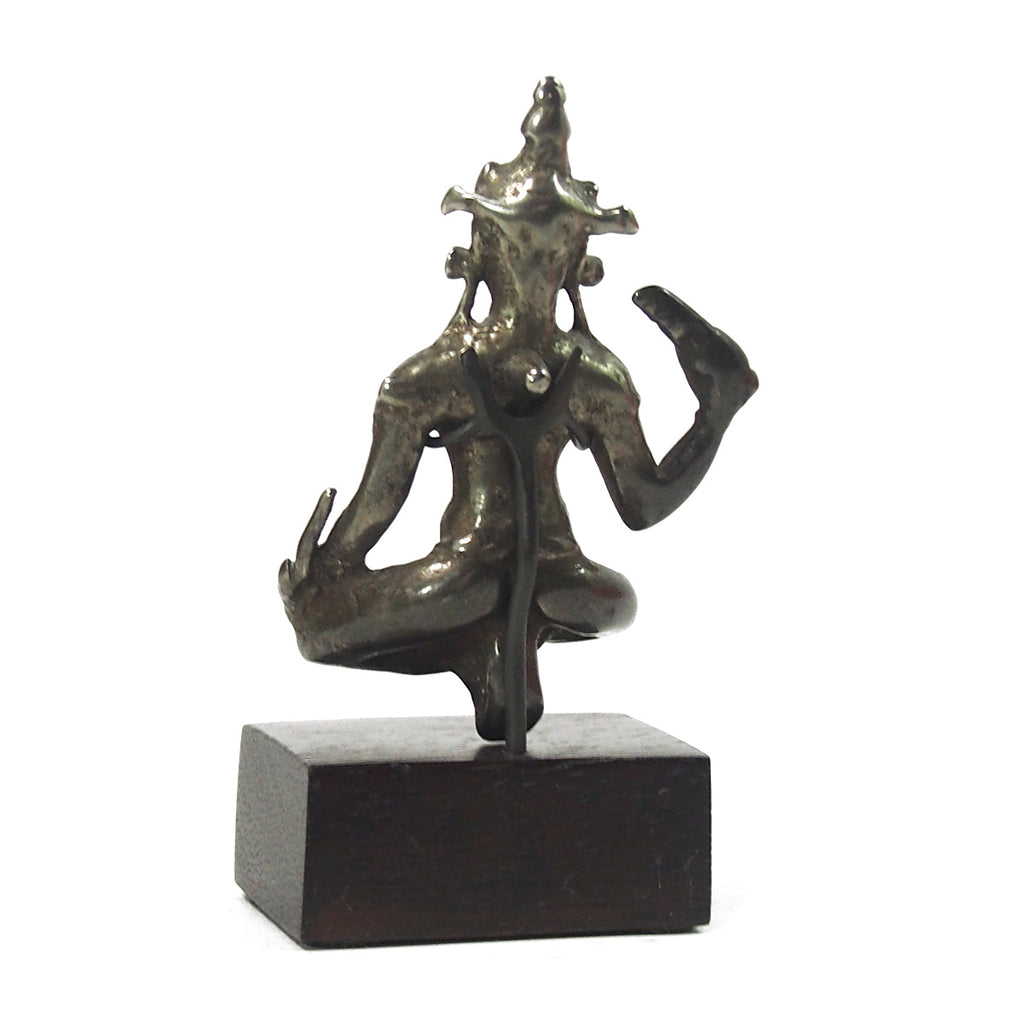 Tibetan God Figure Possibly Bodhisattva Manjushri Antique from Brian's Collection