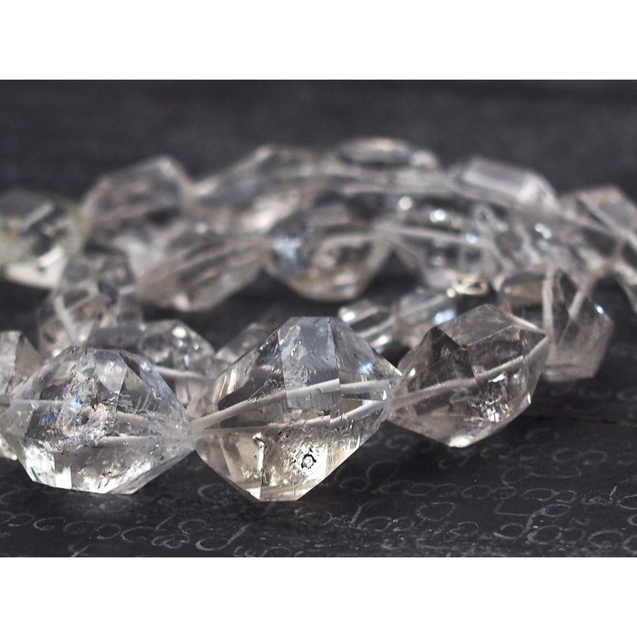 Petroleum Herkimer Diamond Necklace