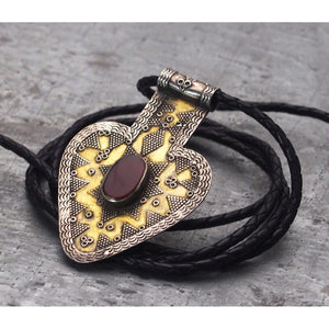 Kazakh Style Richly Detailed Fire Gilded Asyk