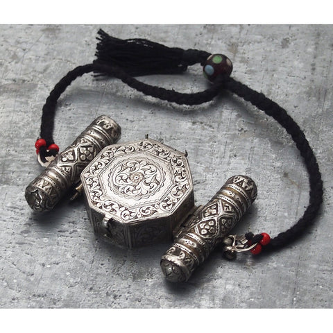 Antique Silver Bazuband