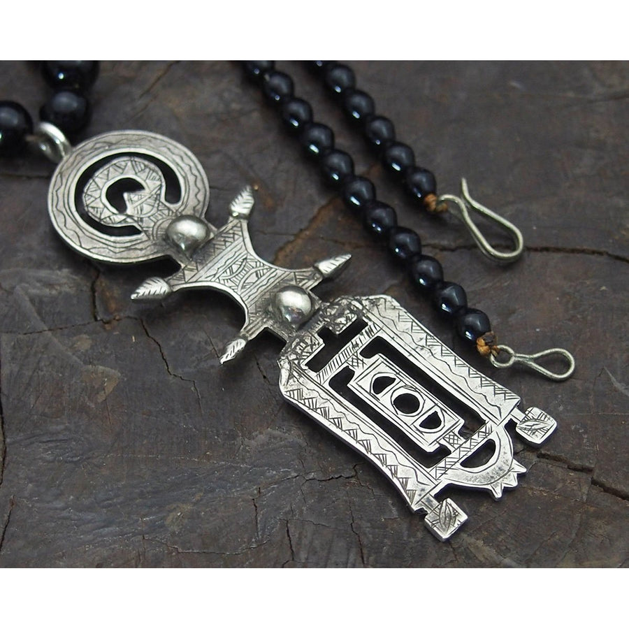 Tuareg Sterling Silver Necklace