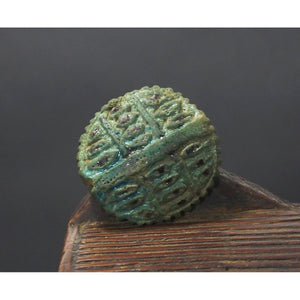 Egyptian Eye of Horus Faience Pendant