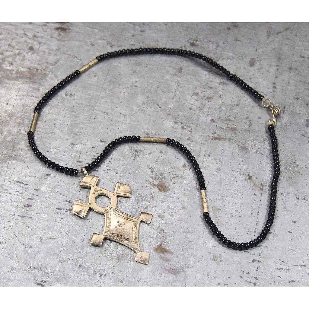 Tuareg Necklace with Pendant, A