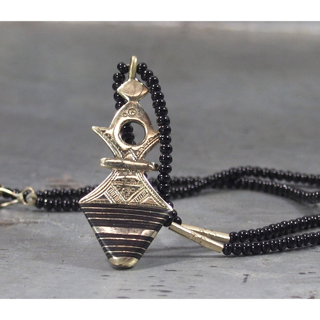 Tuareg Necklace with Pendant, B