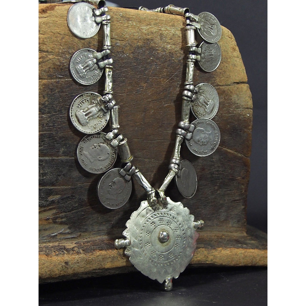 Antique Northern Indian Coin Necklace