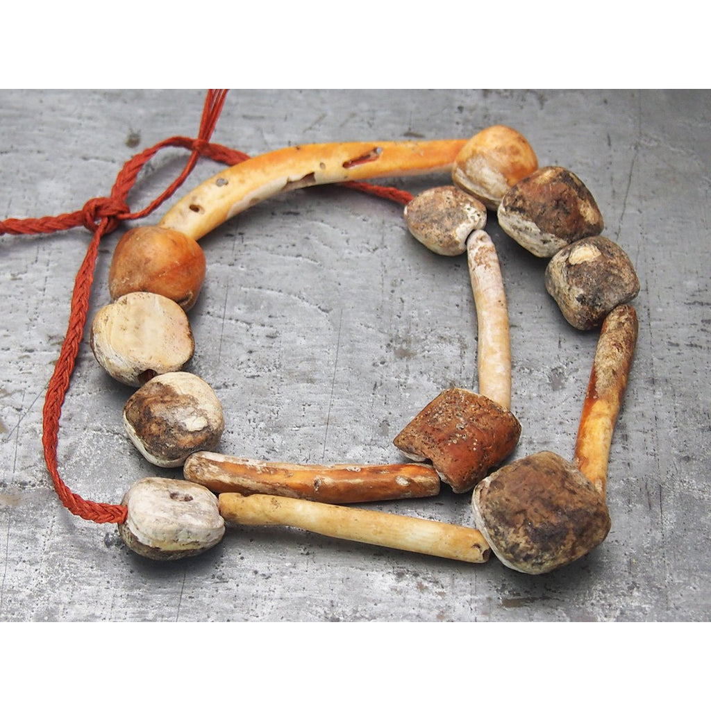 Pre-Columbian Spiny Oyster Necklace, A