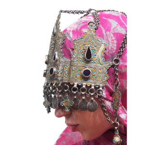 Moroccan Judaica Wedding Crown
