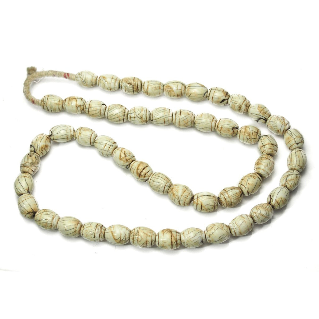 "Naga ""Sacred Shank"" Shell Heirloom Beads From Northern India"