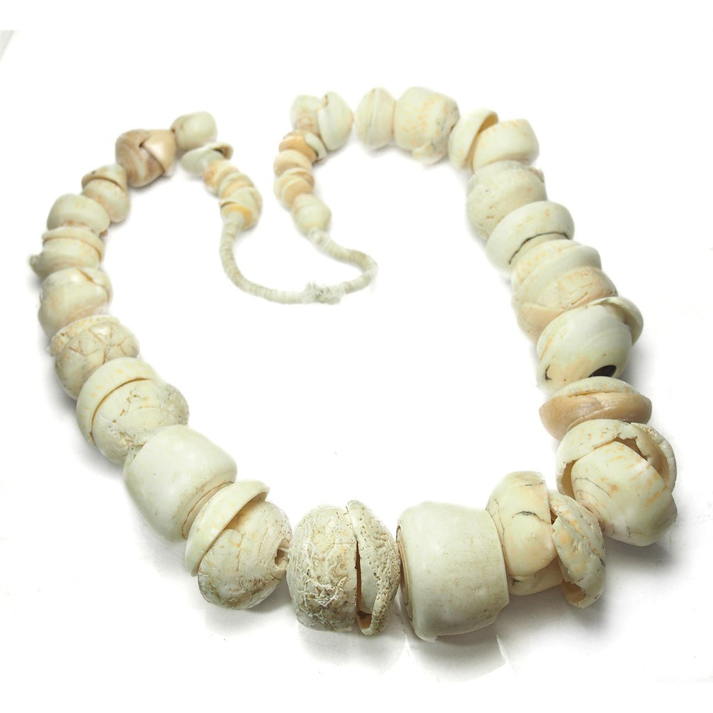 19th Century Mali Conus Shell Currency Heirloom Necklace