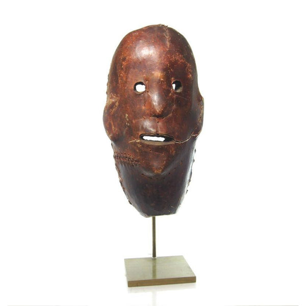 HeHe Leather Covered Ancestor Mask