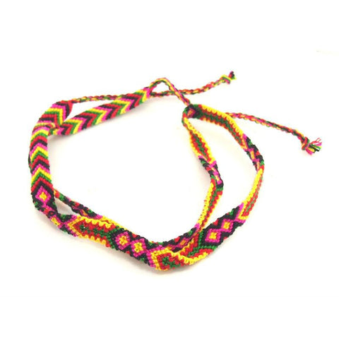Braided Wrap Friendship Bracelet