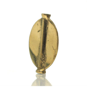 Baoule Cast Brass Heirloom Bead 4
