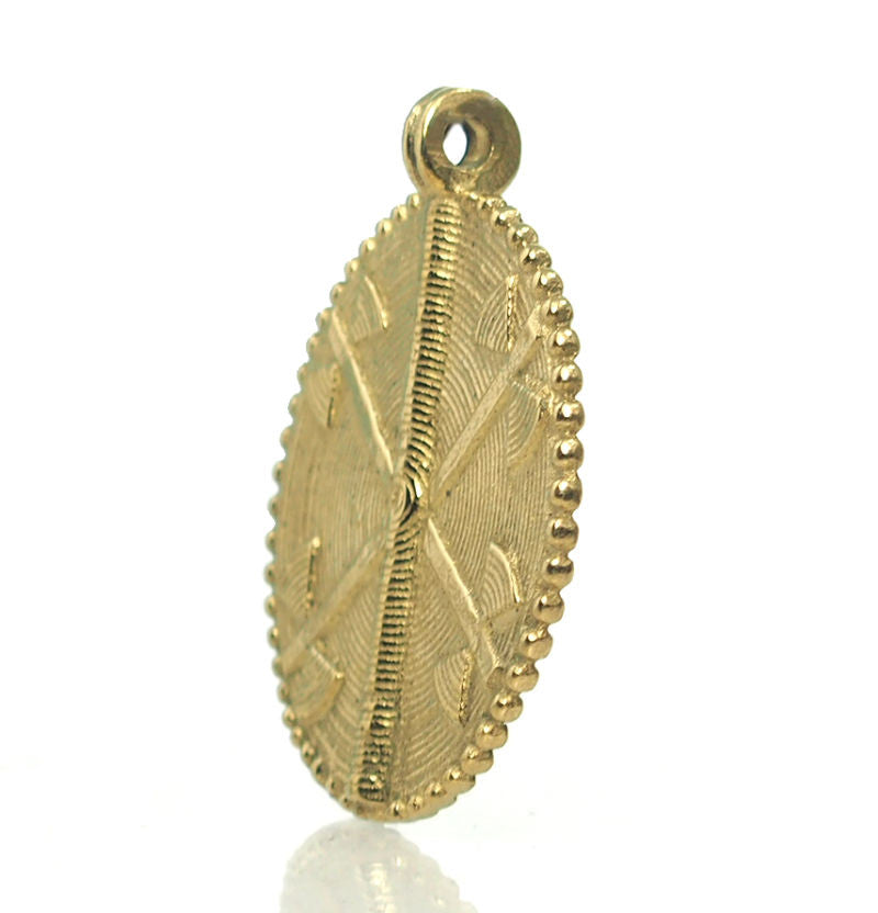 Baoule Cast Brass Heirloom Pendant 8