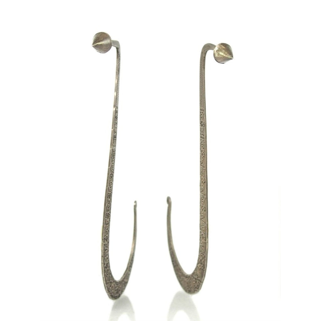 Laos Hmong Tribal Earring Pair