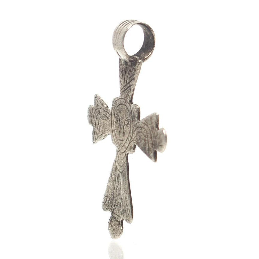 Antique Ethiopian Cross Pendant 6