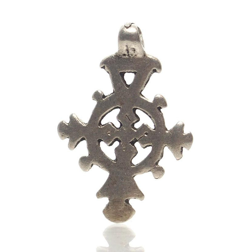 Antique Ethiopian Cross Pendant 7