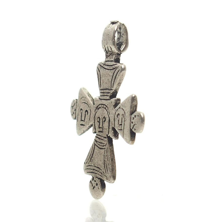 Antique Ethiopian Cross Pendant 8