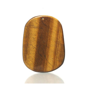 Tiger's Eye Roaring Tiger Pendant