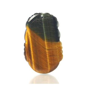 Tiger's Eye Chinese Zodiac Pendant, Dragon