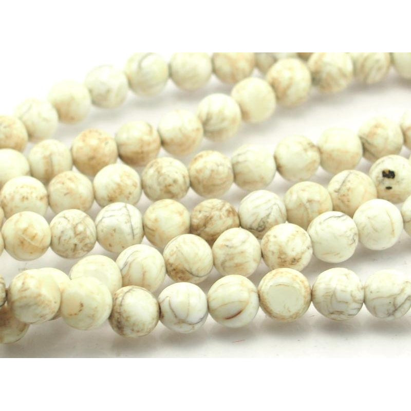 """Sacred Shank"" Shell Mala 8mm"
