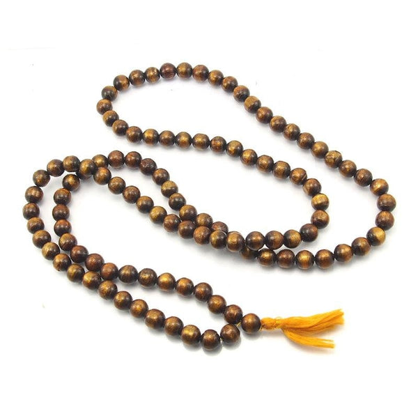 Golden Coral Mala 12mm