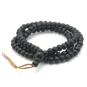 Black Wood Mala 8mm and 10mm