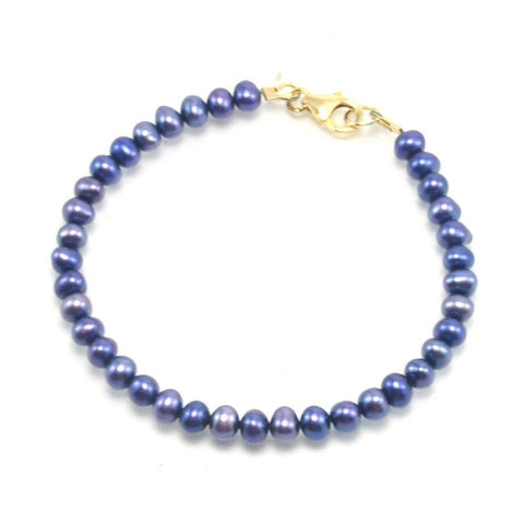 Fresh Water Pearl Bracelet With Gold Filled Trigger Clasp 1