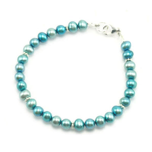 Fresh Water Pearl Bracelet With Sterling Silver Trigger Clasp 2