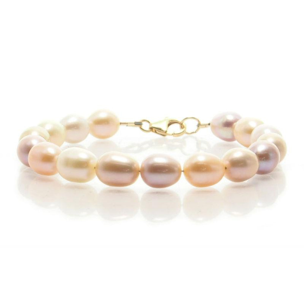Fresh Water Pearl Bracelet With Gold Filled Trigger Clasp 4