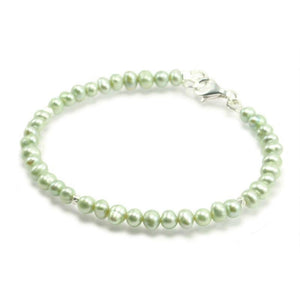 Fresh Water Pearl Bracelet With Sterling Silver Trigger Clasp 5