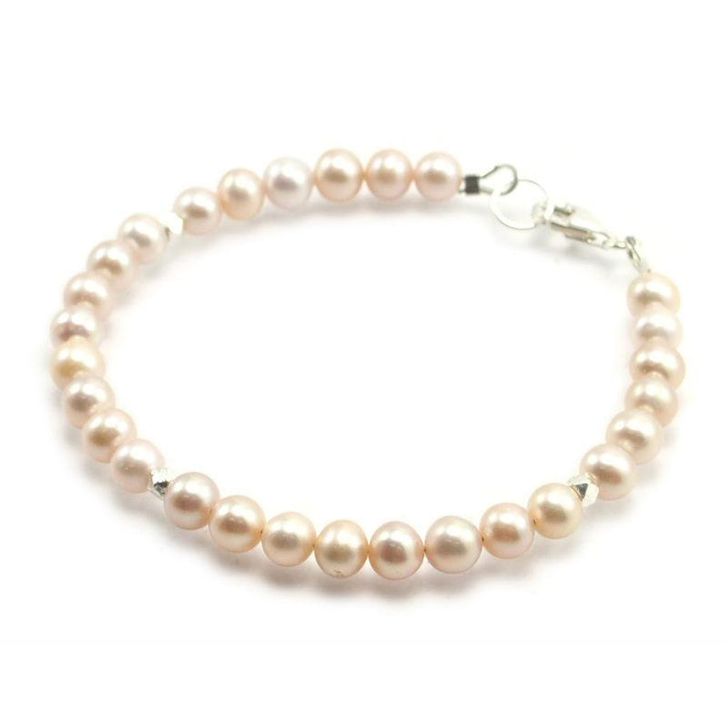 Fresh Water Pearl Bracelet With Sterling Silver Trigger Clasp 6