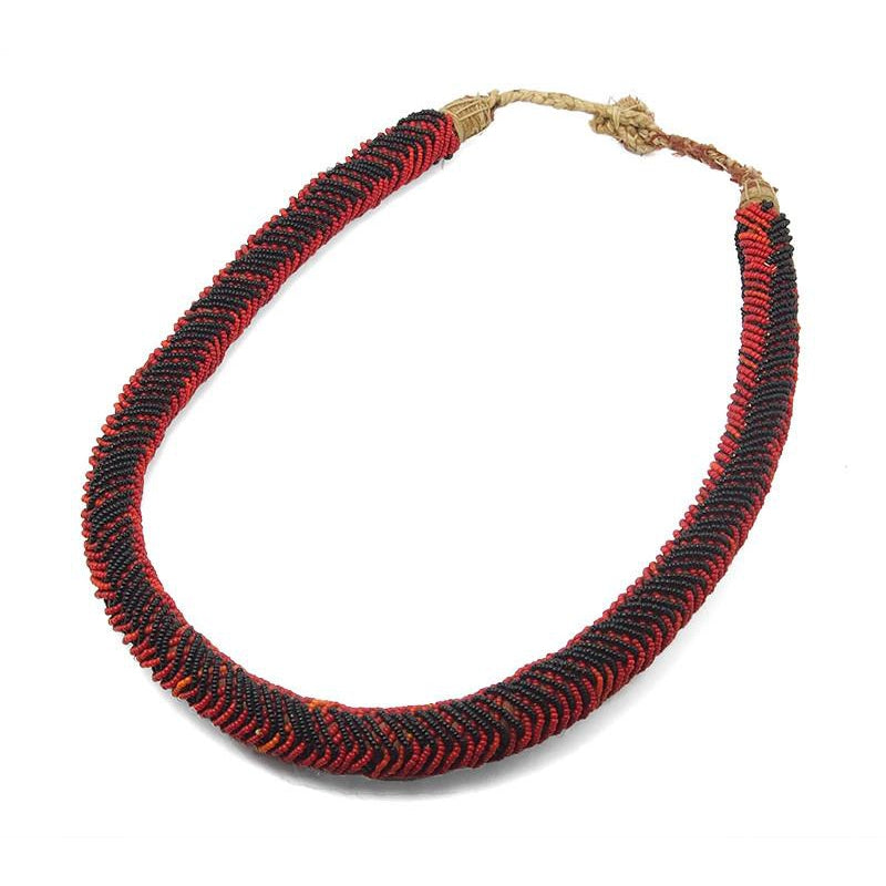 Yoruba Beaded Eshu Necklace from Nigeria ca. 1950